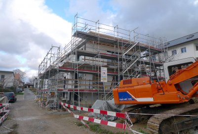 Baustand vom 22. November 2015